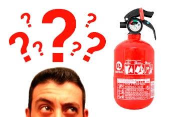 Uso de Extintor de Incêndio é facultativo.