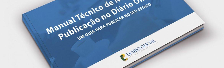 Manual técnico de normas para publicação oficial no DOE